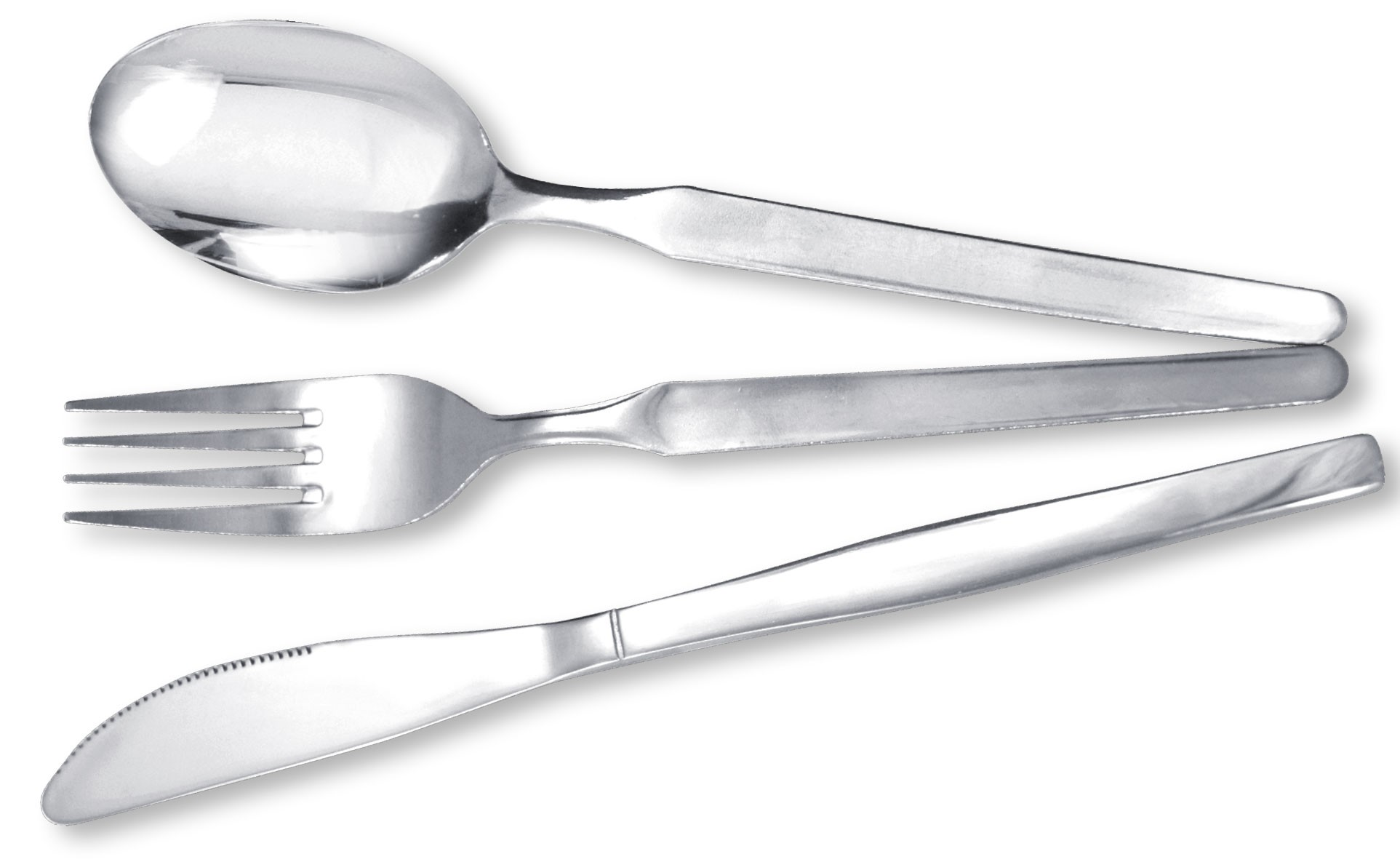 Stainless steel 18.0 tumble cutlery